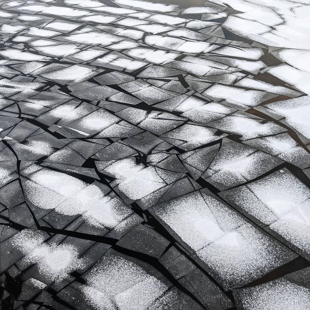 #photooftheweek #instasunday #havel #eis #eisschollen #frost #winter #winterwonderland #winteriscoming #eisbrecher #schnee #snow #ice #icefloe #potsdam #schiffbauergasse #mitdemradzurarbeit #winterdienst